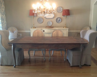 The French Provincial Farm Table - Handmade with Reclaimed Wood by Arcadian Cottage