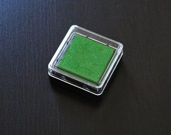 Green Acid Free Pigment Ink Cube