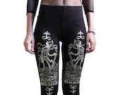 Death Tarot Card Leggings