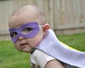 Newborn and Infant Cape and Mask Set, custom colors, photo prop