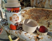 Family Affair Thermos has a Lovely Vintage Patina and would make a great conversation piece