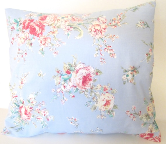 Shabby Chic Pillow Images : Items similar to Decorative Throw Shabby Chic Pillow Cover 16x16 inch Couch Pillow Slip Cover on ...