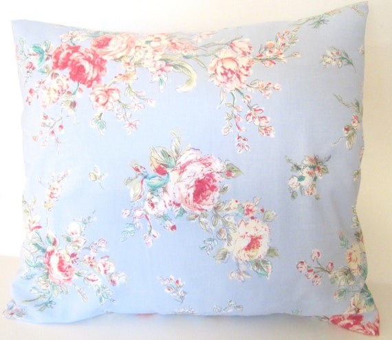 Shabby Chic Decorative Pillows : Items similar to Decorative Throw Shabby Chic Pillow Cover 16x16 inch Couch Pillow Slip Cover on ...