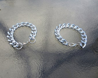 Chunky Silver Chain Bracelet