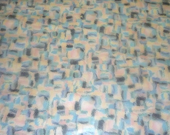"""Leather #594 CLOSEOUT 12""""x12"""" Multicolor Water Ripple Squares on Cowhide 3-3.5 oz / 1.2-1.4 mm  PeggySueAlso"""