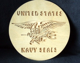 Navy Seals Plaque - United States Navy Seals