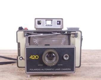 Polaroid Land Camera Automatic 420 / Polaroid Camera / Old Polaroid Camera / Polaroid Land Camera  / Vintage Polaroid /Camera Polaroid Retro