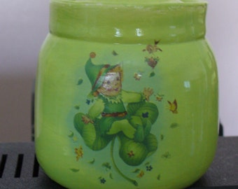 Lime Keepsake Jar