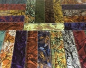 BORDERS - PATCHWORK QUILT Van Gogh Glass Mosaic Tile Color Sample B15