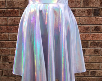 Holographic Circle Skirt