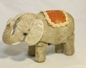 RESERVED for Arthur. Vintage Japan Wind-Up Mechanical Elephant Toy