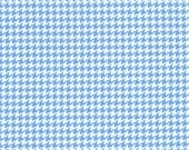 Fat Quarter Fabric for quilt or craft Michael MIller Tiny Houndstooth in Boy Fat Quarter