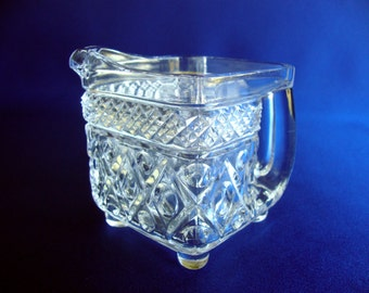 Imperial Cape Cod glass creamer square 160