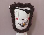 Mr. Lion Pirat 209 - Lion Plush Soft Toy stuffed Doll Plushie Softie