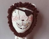 Mr. Lion Pirat 213 - Lion Plush Soft Toy stuffed Doll Plushie Softie