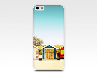 beach iphone 6 case beach scene iphone case 5s nautical iphone case 5 summer iphone case 4s rainbow iphone case 4 beach house case aqua red