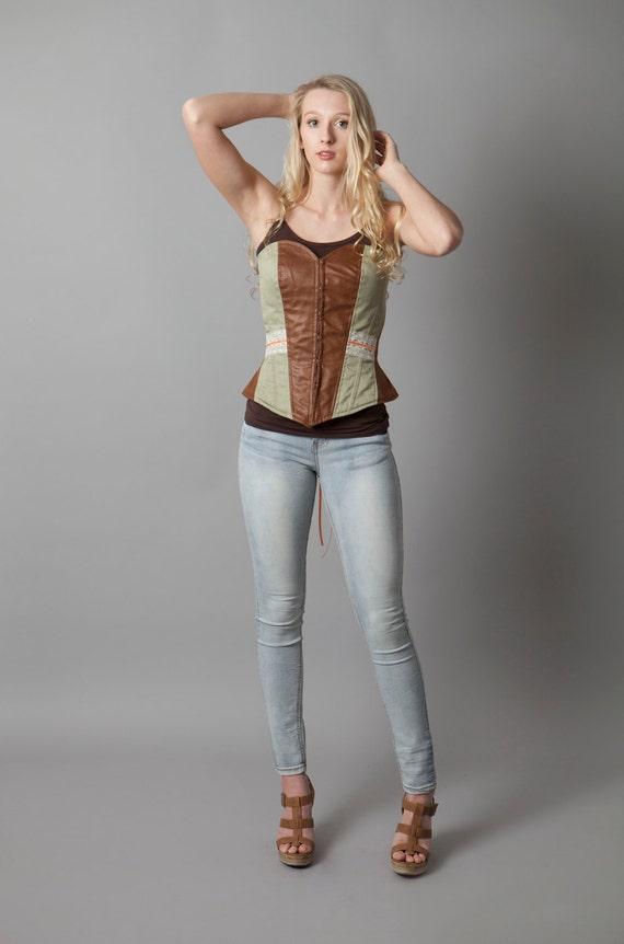 Corset, Renaissance Faire, wench, fair maiden, strapless, western, burlesque, praire, lace, vintage, victorian~If I Die Young (corset)