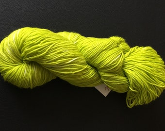 "Sock yarn ""Green Guillotine"""