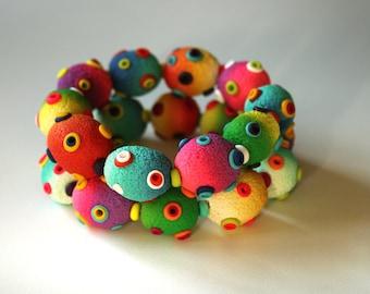 Polymer Clay Duo Bracelets Stomas