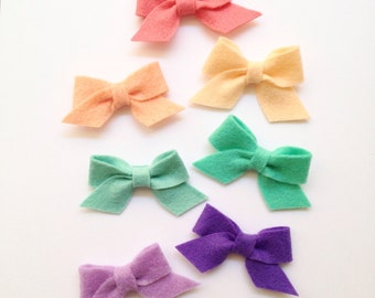BOW Collection: Petite Felt Bow