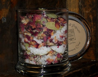 Rose Garden sea salt jar potpourri
