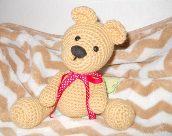 BNR Party Special Price - Custom Crocheted Teddy Bear, teddy bear, custom bear, custom teddy bear, crocheted bear, stuffed animal, kids toy