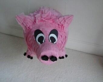 Pink Pig Party Pinata