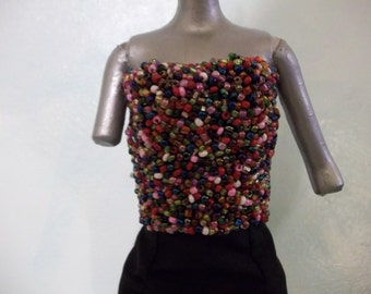 Barbie Beaded Bodice
