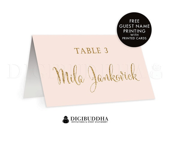 il_570xn - Folded Place Cards