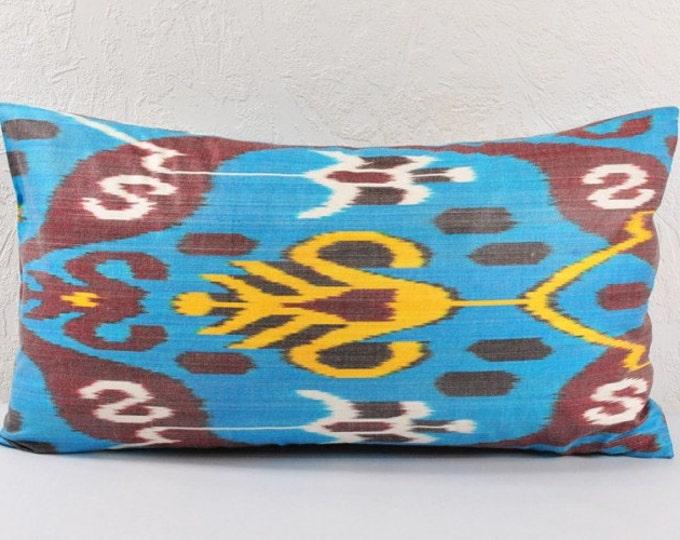 Sale! Ikat Pillow, Hand Woven Ikat Pillow Cover  lip115, Ikat throw pillows, Designer pillows, Decorative pillows, Accent pillows