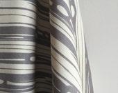 Organic CANVAS Bear Bois Fabric  in Shroom from Birch Fabrics - One FAT QUARTER Cut