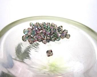 60 Pc. Swarovski Crystal Bicone Paradise Shine 2X 4mm