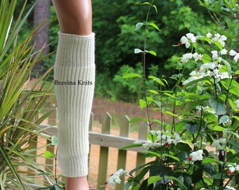 Adult Calf Warmer in Fisherman Knit - 16 inches
