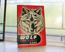 1948 Wolf Cub Scout Book Vintage Boy Scouts