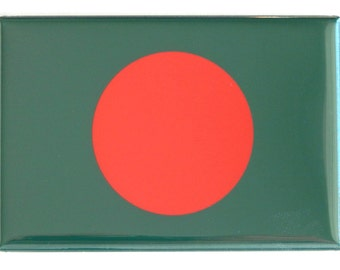 Flag of Bangladesh Fridge Magnet