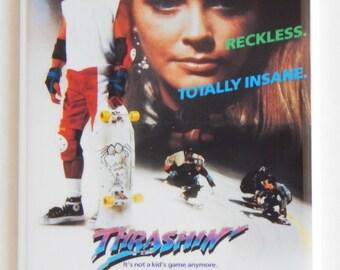Thrashin' Movie Poster Fridge Magnet (2 x 3 inches)
