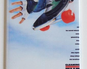 Gleaming the Cube Movie Poster Fridge Magnet