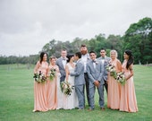 The ONE Dress multi wrap infinity wear LONG convertible bridesmaids dress