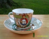 Red Riding Hood Tea Cup and Saucer
