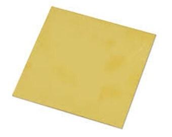 Brass Sheet 22g
