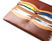 Leather Long Wallet, Prem...