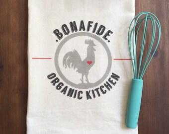 Bonafide Organic Kitchen Flour Sack Tea Towel