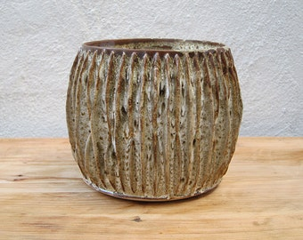 Stoneware Large Dragon Pot