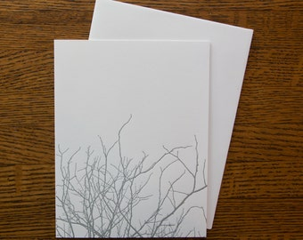 Winter Branches card