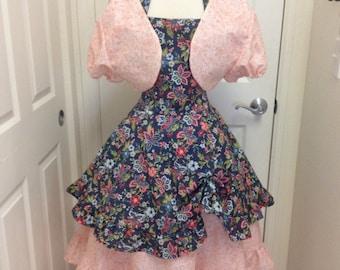 Sale Garden Party adult apron dress set