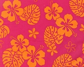 Kaufman - Paradise Pareaus 2 - Hot Pink