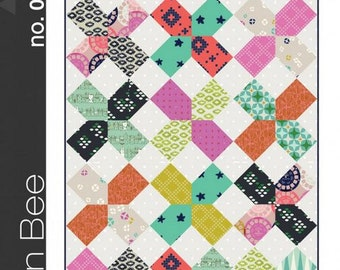 Green Bee Sewing Patterns - The XOXO Quilt Pattern by Alexia Abegg
