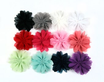The Lazy Daisy Flower Heads - set of 8 - you choose colors