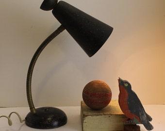 Retro Vintage Goose Neck Lamp // Unique