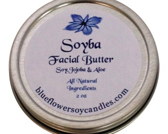 Soyba Facial Butter 2 oz Tin